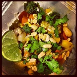 Pad Thai... it's gluten-free!