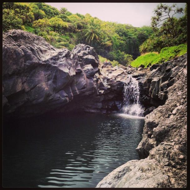 Seven Sacred Pools.